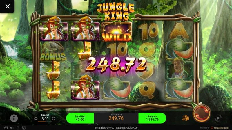 Jungle King :: Multiple winning combinations