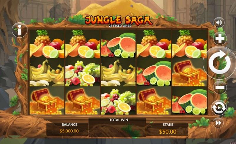 Jungle Saga :: Main Game Board