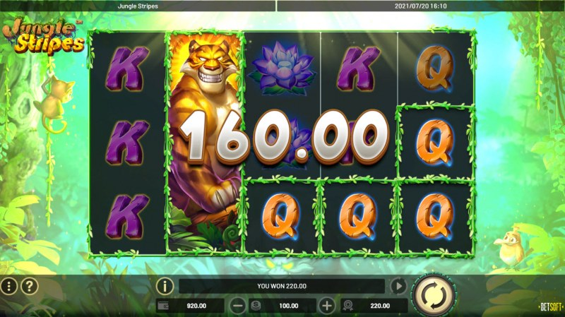 Jungle Stripes :: Game Pays In Both Directions