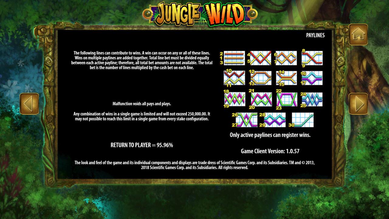 Jungle Wild :: General Game Rules