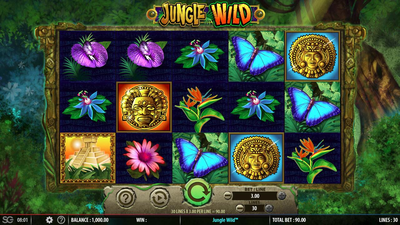Jungle Wild :: Main Game Board
