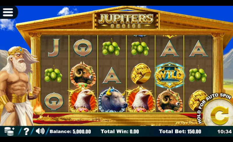 Jupiter's Choice :: Main Game Board