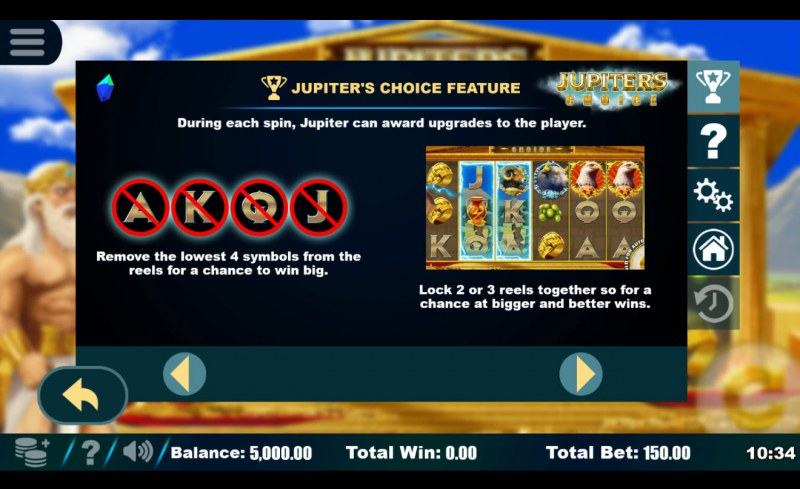 Jupiter's Choice :: Feature Rules