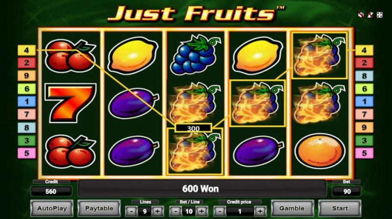Just Fruits :: Big Win