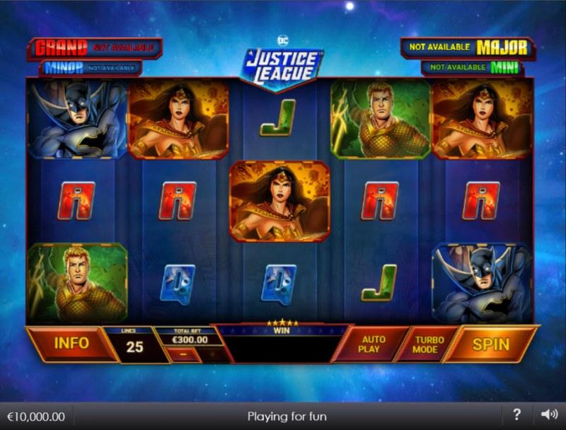 Justice League Comic :: Main Game Board