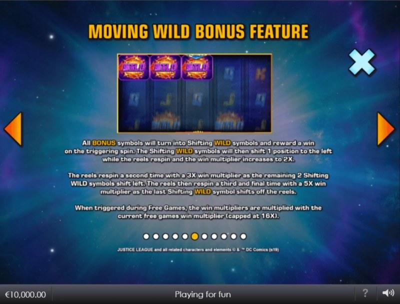 Justice League Comic :: Moving Wild Bonus Feature