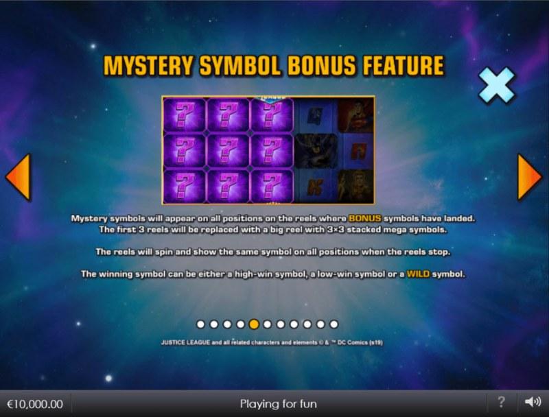 Justice League Comic :: Mystery Symbol Bonus Feature