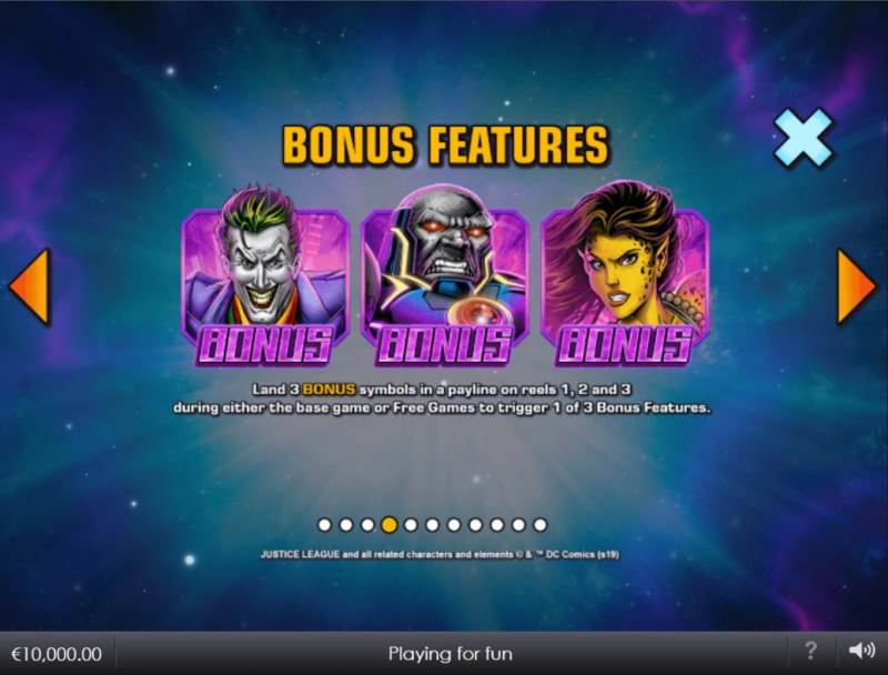 Justice League Comic :: Bonus Feature