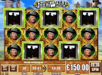 Play slots at Spinland: Spinland featuring the Video Slots John Wayne with a maximum payout of $25,000