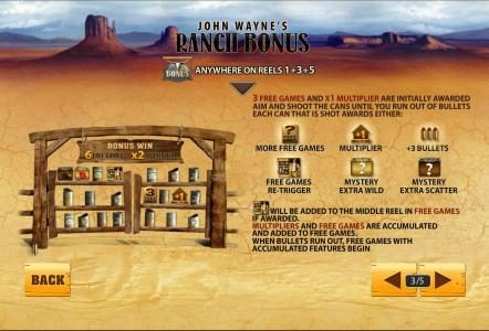 William Hill Casino Club featuring the Video Slots John Wayne with a maximum payout of $250,000