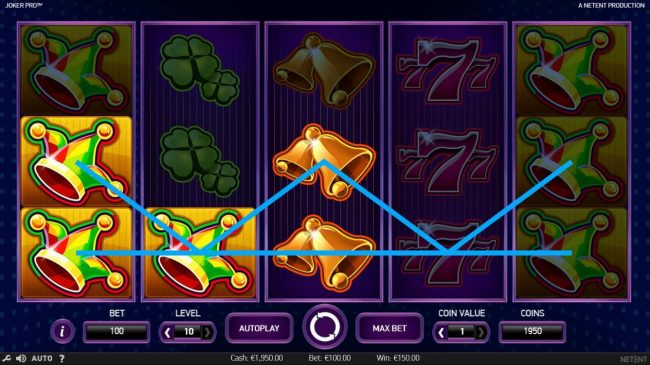 Winner Million featuring the Video Slots Joker Pro with a maximum payout of $1,000,000