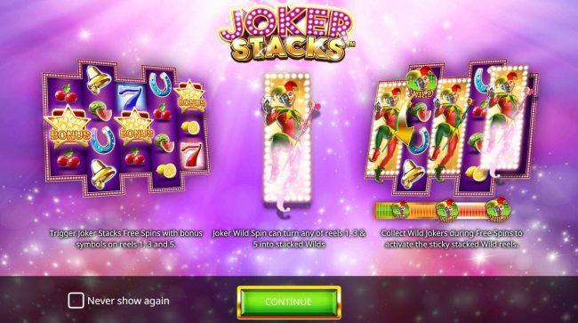 Joker Stacks :: Introduction