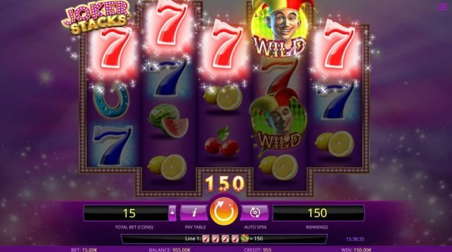 Joker Stacks :: A winning Five of a Kind
