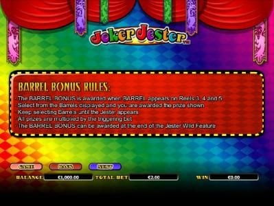 Royal House featuring the Video Slots Joker Jester with a maximum payout of $1,000