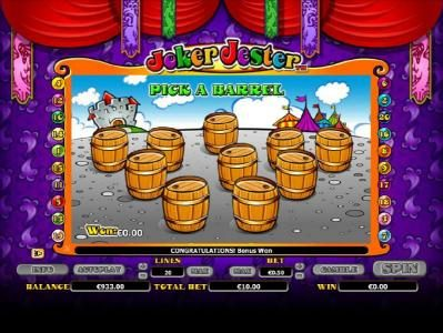Jackpot Mobile featuring the Video Slots Joker Jester with a maximum payout of $1,000