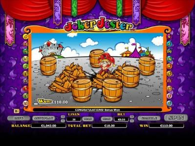Tivoli featuring the Video Slots Joker Jester with a maximum payout of $1,000