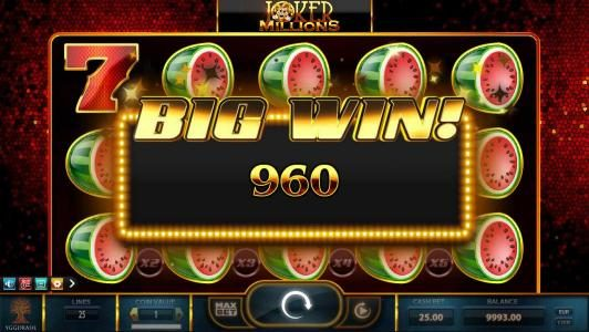 YouWin featuring the Video Slots Joker Millions with a maximum payout of Jackpot