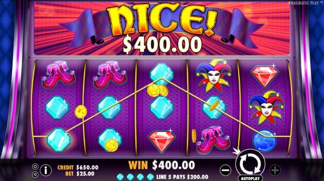 Joker's Jewels :: Multiple winning paylines