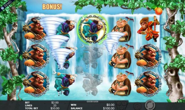 PropaWin featuring the Video Slots Journey to the West with a maximum payout of $5,000