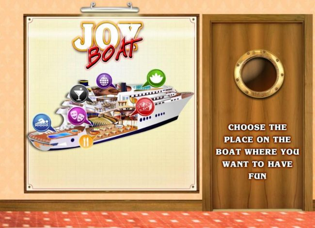 Joker Casino featuring the Video Slots Joy Boat with a maximum payout of $1,000,000