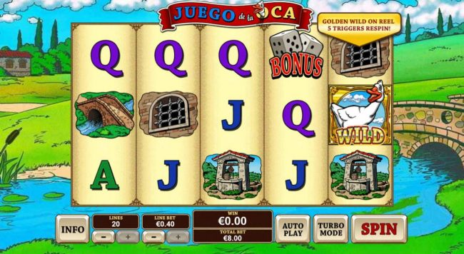 Play slots at Titanbet.it: Titanbet.it featuring the Video Slots Juego De La Oca with a maximum payout of $20,000