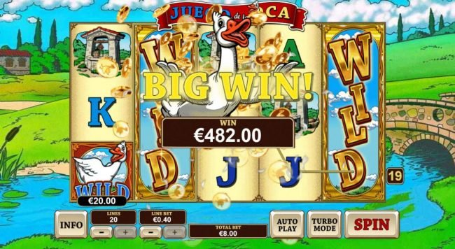 Play slots at MANSION: MANSION featuring the Video Slots Juego De La Oca with a maximum payout of $20,000