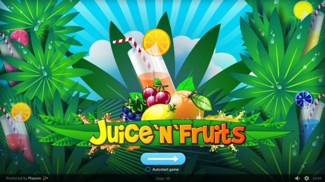 Goodwin Casino featuring the Video Slots Juice 'n Fruits with a maximum payout of $50,000