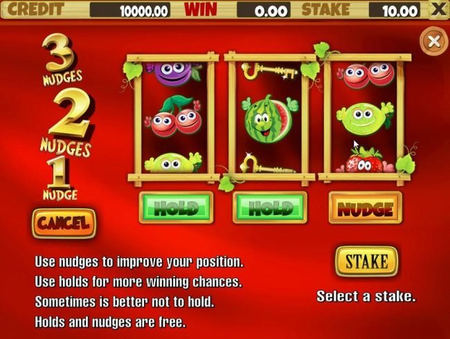 Juicy Fruits :: Nudges