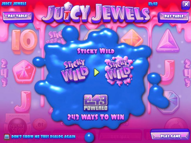 Winbig21 featuring the Video Slots Juicy Jewels with a maximum payout of $37,500