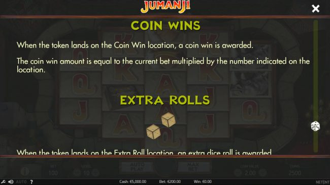 14 Red Casino featuring the Video Slots Jumanji with a maximum payout of $100,800