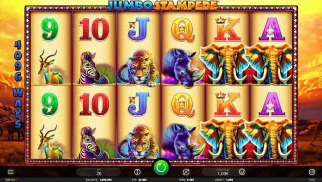 Jumbo Stampede :: Main Game Board