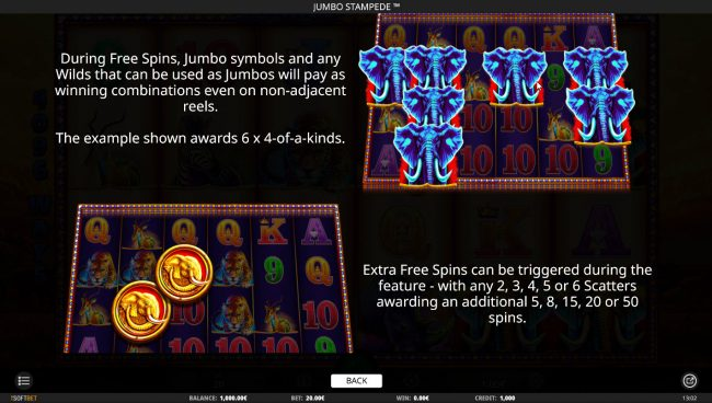 Jumbo Stampede :: Feature Rules