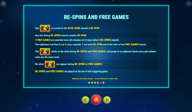 7 Gods Casino featuring the Video Slots Jump with a maximum payout of $100,000