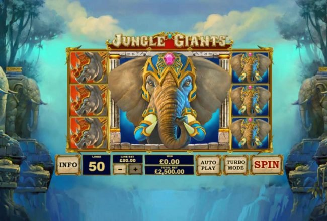 Play slots at William Hill Casino Club: William Hill Casino Club featuring the Video Slots Jungle Giants with a maximum payout of $2,500,000