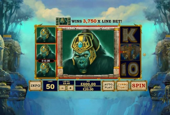 Vernons featuring the Video Slots Jungle Giants with a maximum payout of $2,500,000