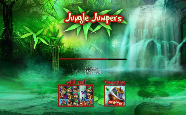 Play slots at Pokie Place: Pokie Place featuring the Video Slots Jungle Jumpers with a maximum payout of $75,000