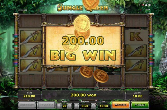 Jungle Queen :: Big Win