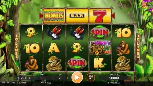 Jungle :: Main Game Board
