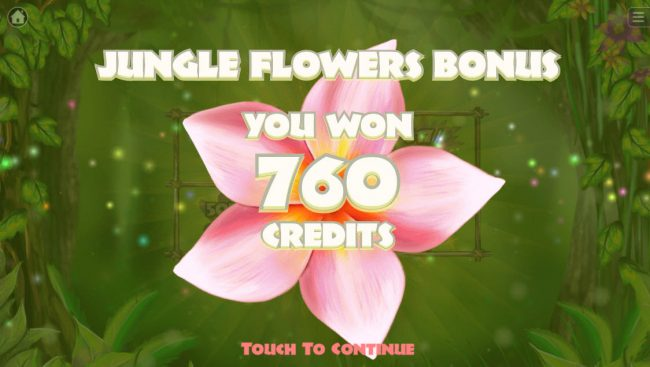 Jungle :: Total Bonus Payout
