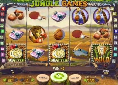 Wixstars featuring the Video Slots Jungle Games with a maximum payout of $4,000