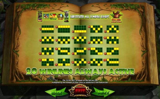 Spinrider featuring the Video Slots Jungle Jackpots Mowgli's Wild Adventure with a maximum payout of $12,500