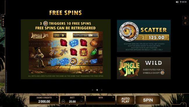 YouWin featuring the Video Slots Jungle Jim El Dorado with a maximum payout of $92,000
