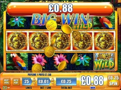 Play slots at All British: All British featuring the Video Slots Jungle Wild with a maximum payout of $250,000