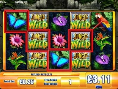 All Irish featuring the Video Slots Jungle Wild with a maximum payout of $7,500