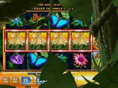 Egypt Slots featuring the Video Slots Jungle Wild with a maximum payout of $7,500