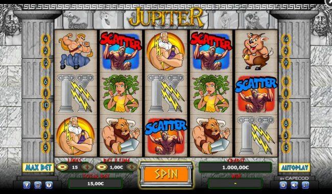 Jupiter :: Main Game Board