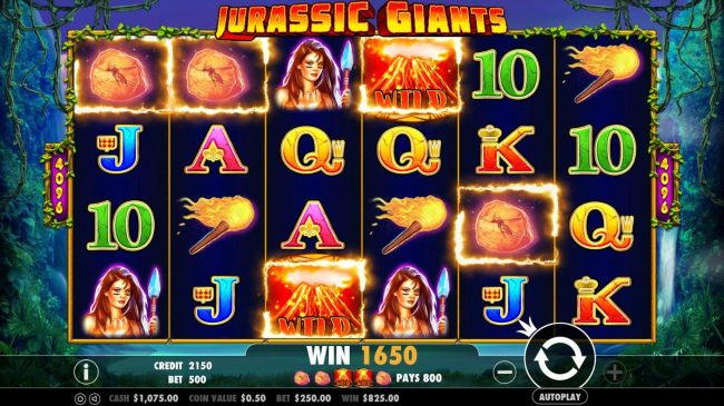 Casino States featuring the Video Slots Jurassic Giants with a maximum payout of $20,000