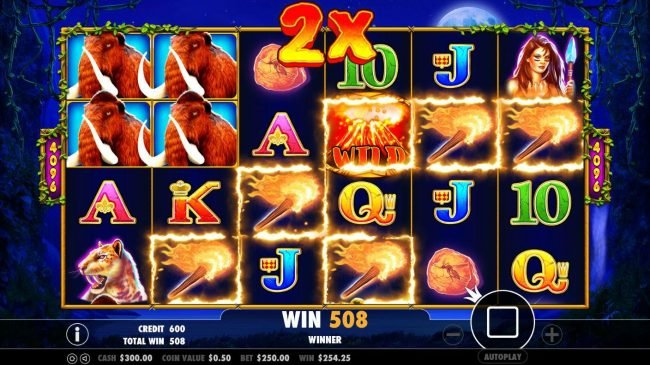 Spiral featuring the Video Slots Jurassic Giants with a maximum payout of $20,000