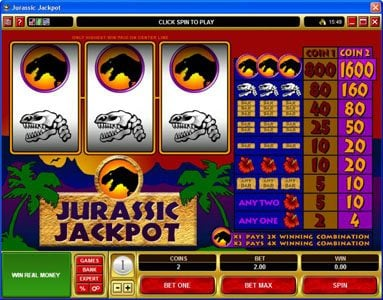Play slots at Betive: Betive featuring the Video Slots Jurassic Jackpot with a maximum payout of $160,000