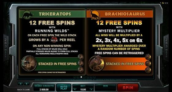 Play slots at Lucky Emperor: Lucky Emperor featuring the Video Slots Jurassic Park with a maximum payout of $475,000